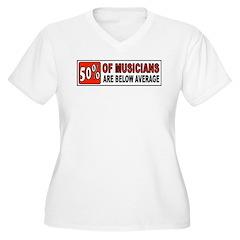 GUITAR Plus Size T-Shirt