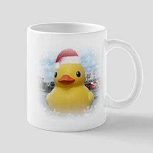 Santa Duck Mugs