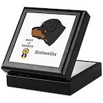 Rottweiler Keepsake Box
