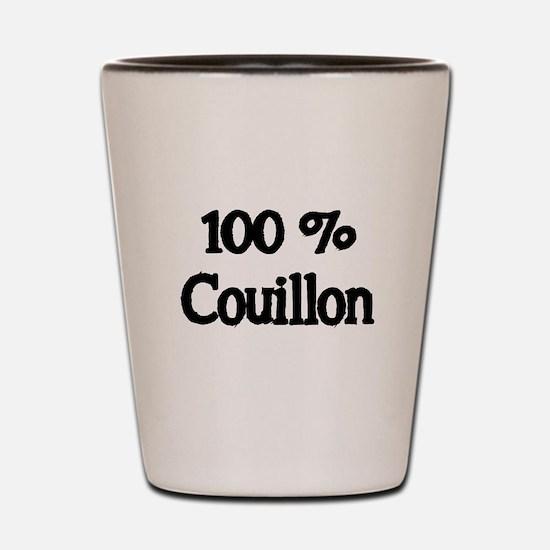 100% Couillon Shot Glass