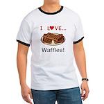 I Love Waffles Ringer T