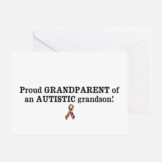 Proud GRANDPARENT Of An AUTISTIC Grandson! Greetin