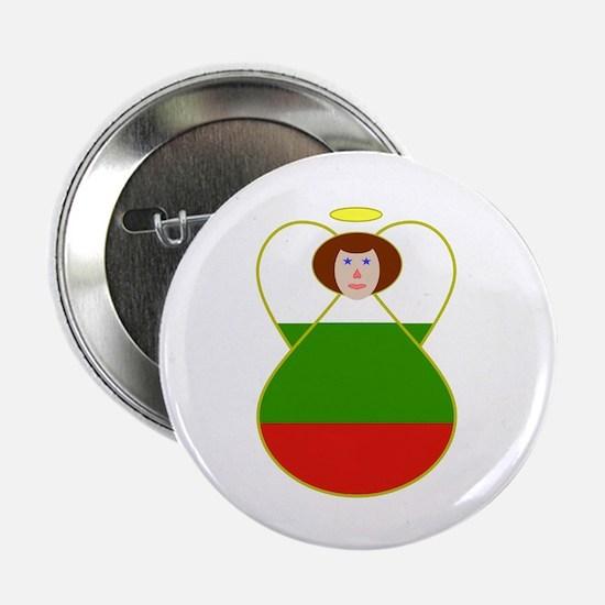 "Bulgarian Flag Angel 2.25"" Button"