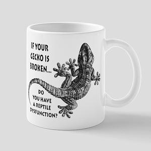 Reptile Dysfunction Mugs