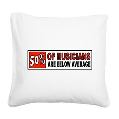 GUITAR Square Canvas Pillow