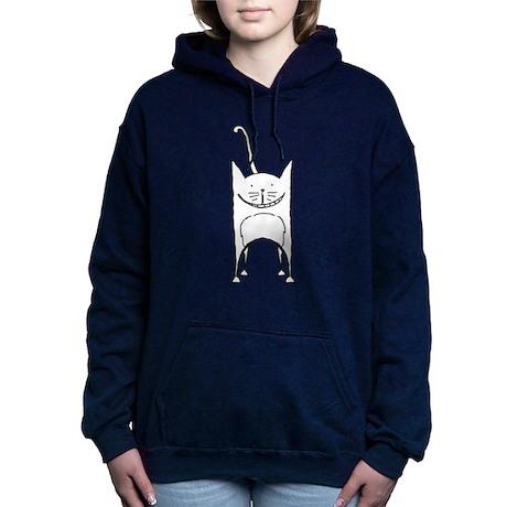 Smiling Cat Hooded Sweatshirt