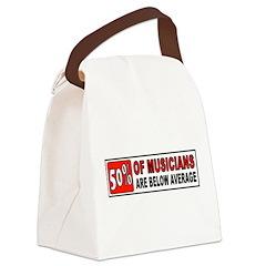 GUITAR Canvas Lunch Bag