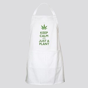 Keep Calm Its Just A Plant Apron