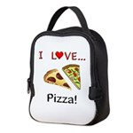 I Love Pizza Neoprene Lunch Bag