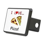 I Love Pizza Rectangular Hitch Cover