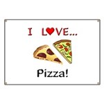 I Love Pizza Banner