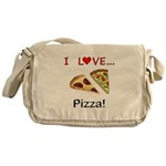 I Love Pizza Messenger Bag
