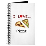 I Love Pizza Journal