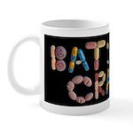 Batshit Crazy Black Mug Mugs