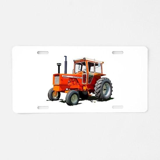 Cute Rural Aluminum License Plate