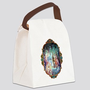 Welcome to Fairyland Canvas Lunch Bag