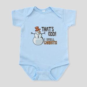 THAT'S ODD! I SMELL CARROTS! Infant Bodysuit