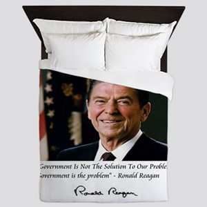 Reagan Govt Is Problem Queen Duvet