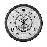 Nautical anchor Giant Clocks