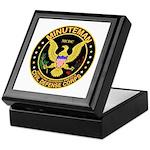 Minuteman Civil Defense Keepsake Box