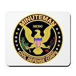 Minuteman Civil Defense Mousepad