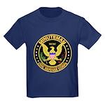 Minuteman Civil Defense Kids Dark T-Shirt