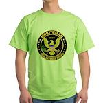 Minuteman Civil Defense Green T-Shirt