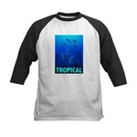 Tropical Fish Kids Baseball Jersey
