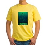 Tropical Fish Yellow T-Shirt