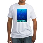 Tropical Fish Fitted T-Shirt