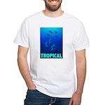 Tropical Fish White T-Shirt