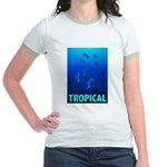 Tropical Fish Jr. Ringer T-Shirt