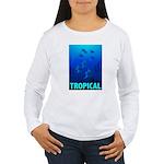Tropical Fish Women's Long Sleeve T-Shirt