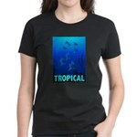 Tropical Fish Women's Dark T-Shirt