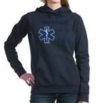 proud emt girlfrien... Hooded Sweatshirt