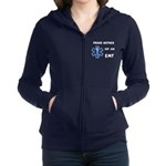 Proud Mother of an EMT Women's Zip Hoodie