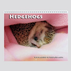 Hedgehog Wall Calendar