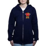 Teachers Apple Bear Zip Hoodie