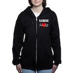 Nurse For Life Zip Hoodie