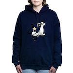 Siamese Cat Royalty Hooded Sweatshirt