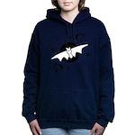 Halloween Bats Women's Hooded Sweatshirt