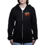 Chocolate Strawberry Zip Hoodie