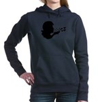 blowing kisses Hooded Sweatshirt