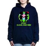 global warning kids redone Hooded Sweatshirt