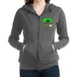 love is green Zip Hoodie
