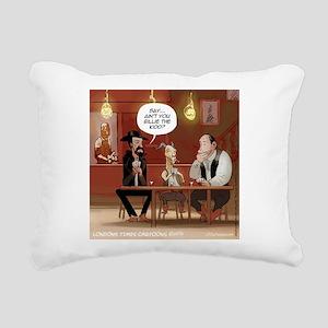 Billy The Goat Rectangular Canvas Pillow