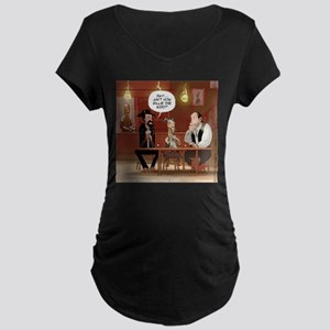 Billy The Goat Maternity T-Shirt