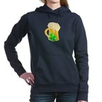 Irish Beer By The Pitche Women's Hooded Sweatshirt