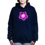flower pink Hooded Sweatshirt