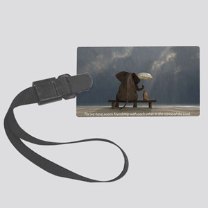 Friends Large Luggage Tag